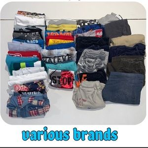 Boys long sleeves shirts and t-shirt 15 pieces 6